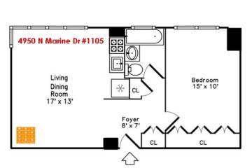 4950 North Marine Drive, Chicago, IL 60640